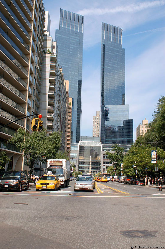 MIDTOWN MANHATTAN - Time Warner Center, Columbus Circle - Skidmore Owings & Merrill (David Childs)