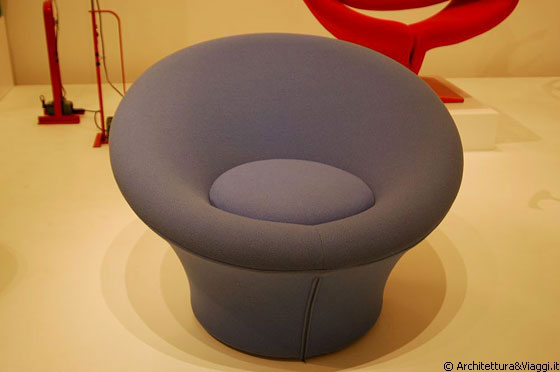 MIDTOWN MANHATTAN - MoMA: Mushroom Chair - Pierre Paulin, 1963