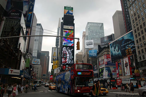 new york city times square il centro di manhattan