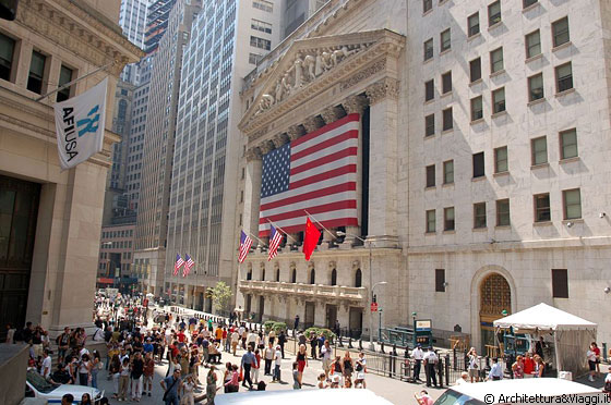 FINANCIAL DISTRICT - Wall Street - New York Stock Exchange, il cuore del capitalismo americano