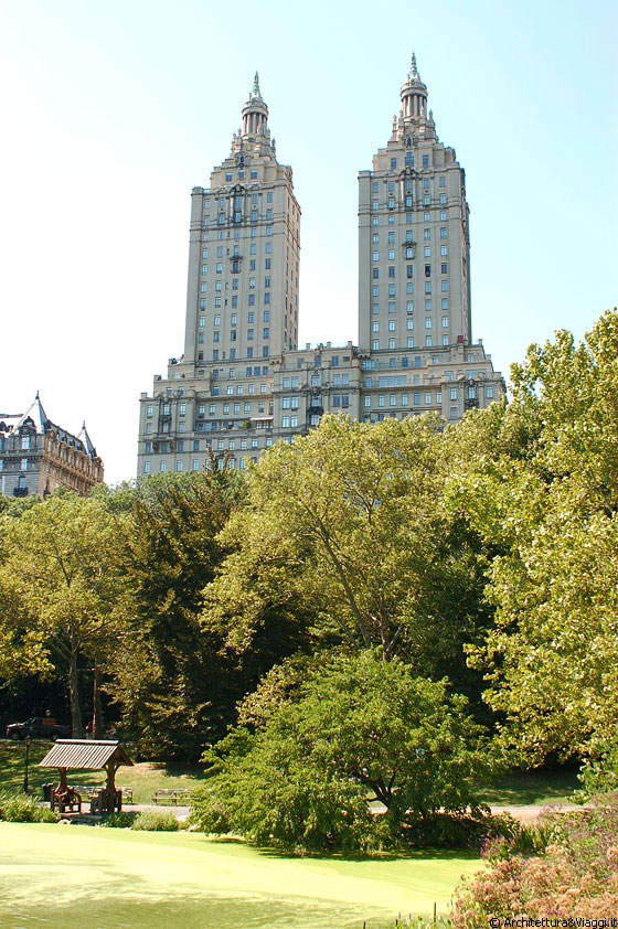 Upper west side da central park vista sugli eleganti e for Piani di casa in stile west indian