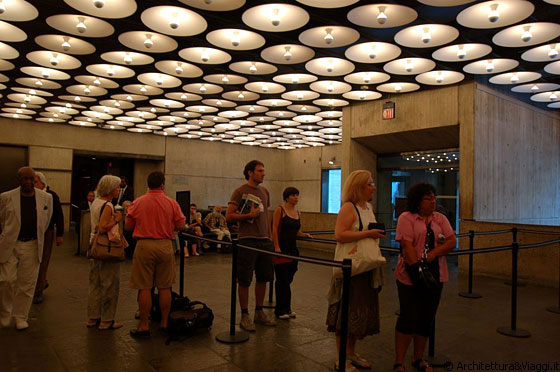 UPPER EAST SIDE - La hall e reception del Whitney Museum of American Art