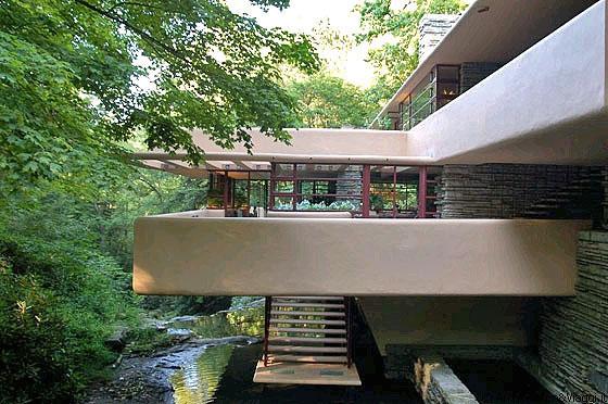 Fallingwater gli abitanti di casa kaufmann sono in for Piani casa in stile key west