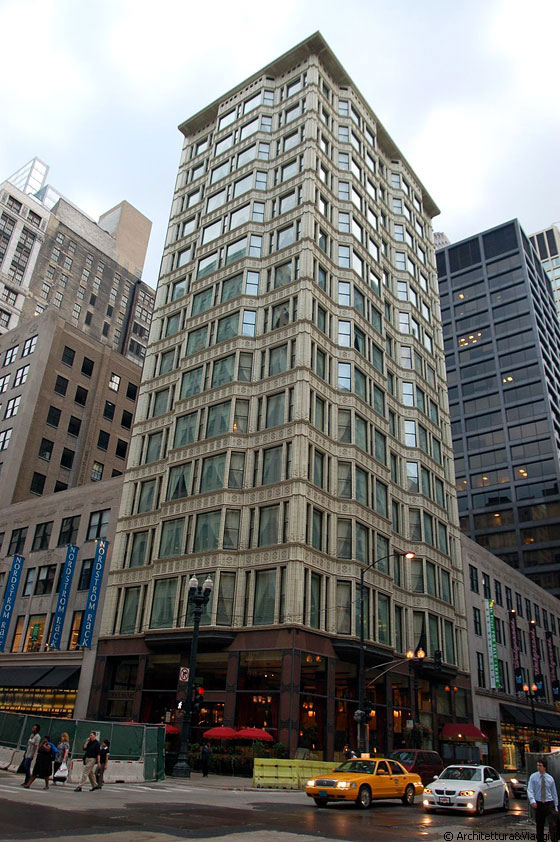 CHICAGO - Reliance Building - arch. Daniel H. Burnham and Co, 1890 - 1895