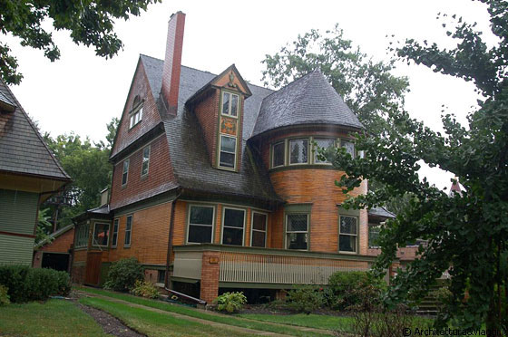 OAK PARK - Walter H. Gale House, tra le