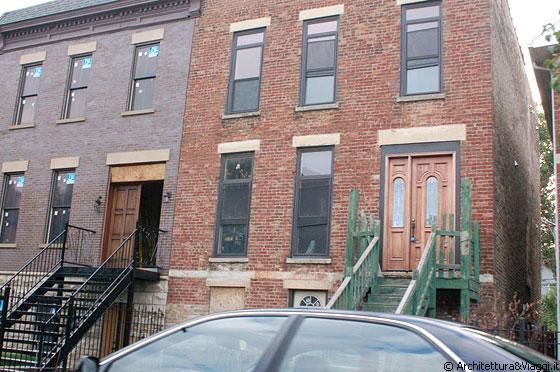 Chicago la parte sud della citt ha un suo fascino con for Case in stucco e mattoni