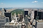 NEW YORK CITY. Dalla piattaforma panoramica Top of the Rock del Rockefeller Center, posta a a 70 piani sopra Midtown, splendida vista su Central Park