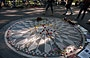 CENTRAL PARK. Strawberry Fields, dedicato alla memoria di John Lennon