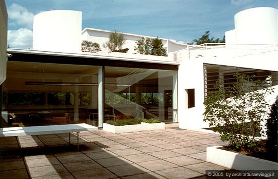 SAVOYE - POISSY - Il tetto terrazza - giardino