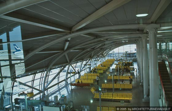 OSAKA - Kansai International Airport Terminal - Renzo Piano Building Workshop, architects