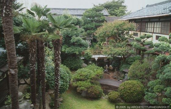 Nara ryokan seikan so il meraviglioso giardino interno - Giardino interno ...