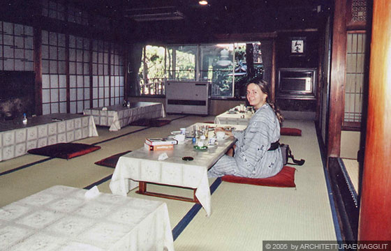 Nara ryokan seikan so colazione nella stanza da pranzo for Stanza giapponese