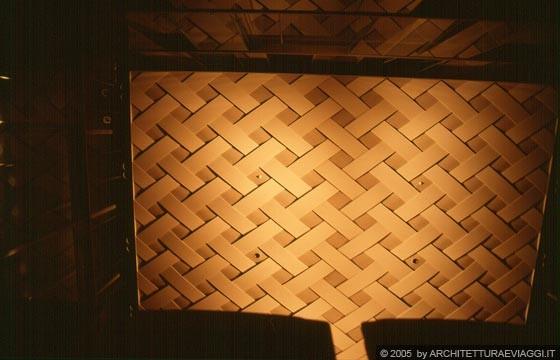 Foto Giardino Zen Giappone : Nara convention hall la sala dei concerti soffitto in