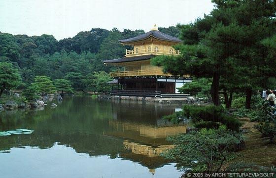 Kyoto nord ovest il brillante riflesso del kinkaku ji for Specchio d acqua architettura