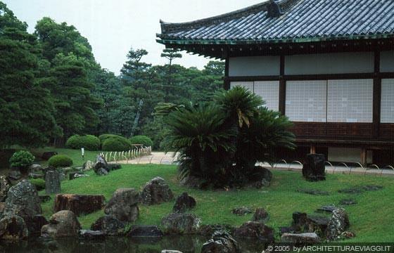 Kyoto centro castello nijo jo particolare del palazzo for Giardino hamarikyu