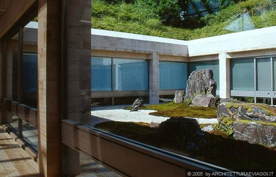 Shigaraki shiga miho museum giardino zen i m pei for Giardino zen interno