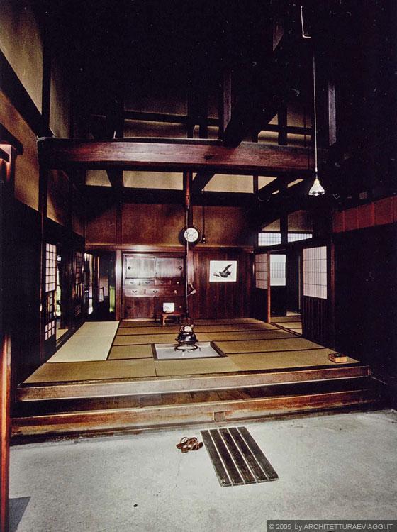 Takayama il doma l 39 area dedicata al commercio e l 39 irori for Case in stile giapponese