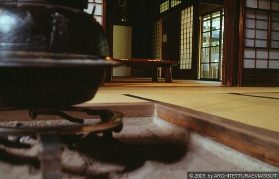 Takayama casa yoshijima irori con braciere a carbone for Pavimento giapponese