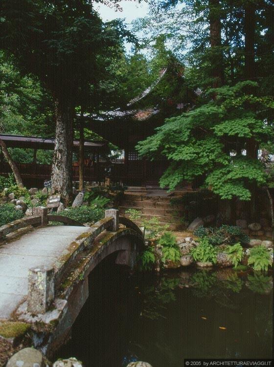 Takayama Shiroyama Koen Il Giardino Di Un Tempio A