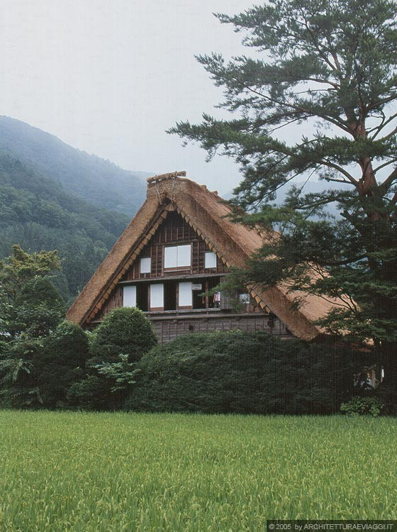 REGIONE DELLA VALLE DI SHOKAWA - Ogimachi - Wada-ke (Wada House)