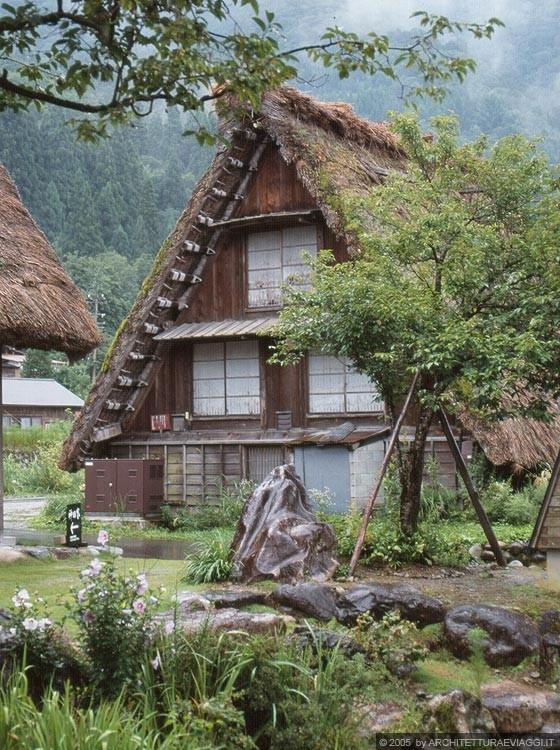 Shirakawa go ogimachi il giardino zen della casa kanda for Il giardino di zen