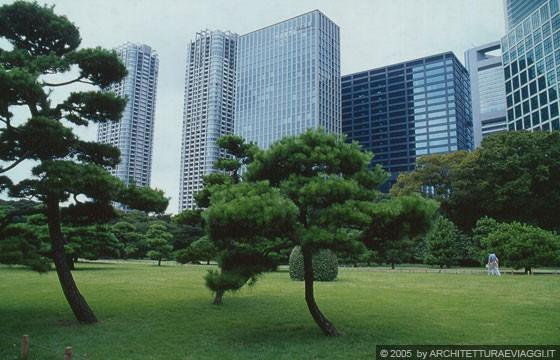 Tokyo Ginza Hamarikyu Teien Gardens Giardini Di Palazzo