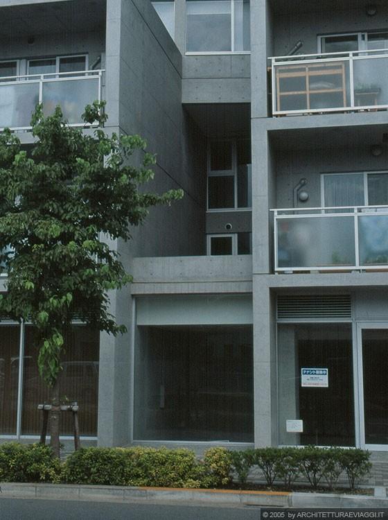 Tokyo sengawa appartamenti tadao ando architect for Appartamenti giappone