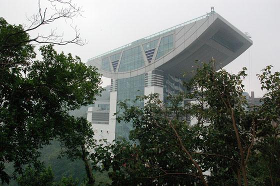 The peak progettato da zaha hadid architetto donna di fama internazionale - Hadid architetto ...
