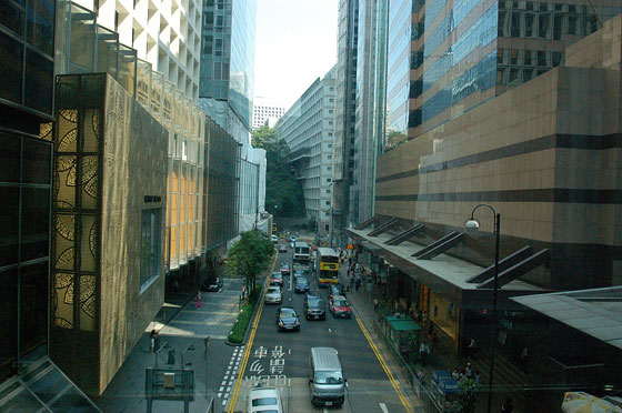 CENTRAL - Le vie dello shopping di Central: Queen's Rd Central, Chater Road e Des Voeux Road Central