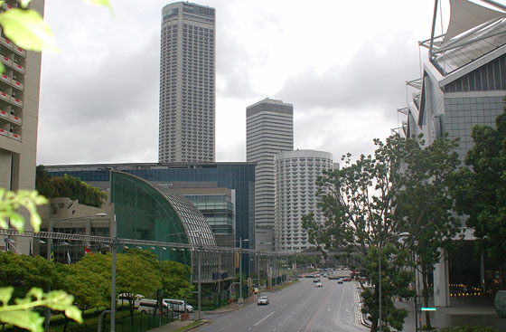 SINGAPORE - Nei pressi di Suntec City