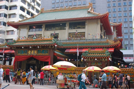 SINGAPORE - Kwan Im Temple (Goddess of Mercy Temple) - Waterloo Street