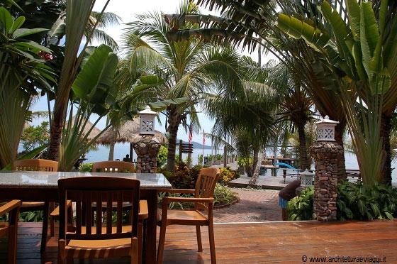 Rawa Island La Terrazza In Legno Del Rawa Safari Island Resort