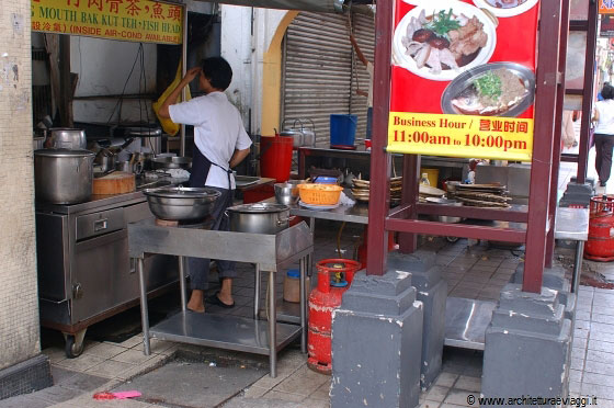 Kuala lumpur cucina all 39 aperto per questo ristorante cinese for Cucine all aperto