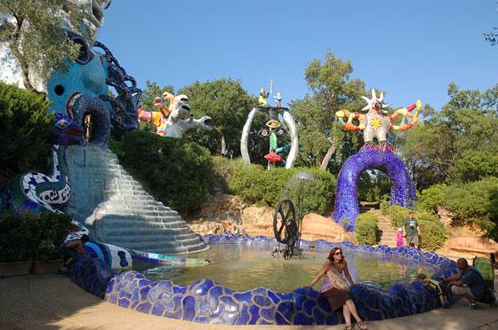 Il giardino dei tarocchi il sogno magico e spirituale della vita di niki de saint phalle - Il giardino dei tarocchi ...