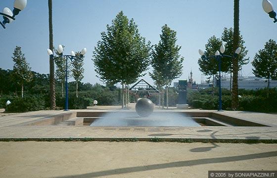 Siviglia expo 39 92 laghetti artificiali e canali for Immagini di laghetti artificiali