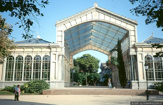 BARCELLONA - Parc de la Ciutadella - Imbraculo e Invernaculo
