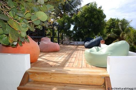ROQUE - La terrazza sul tetto della Posada Acuarela