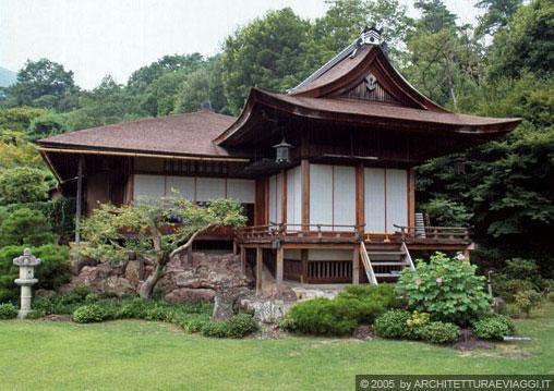 La villa di okochi sancho for Architettura tradizionale giapponese